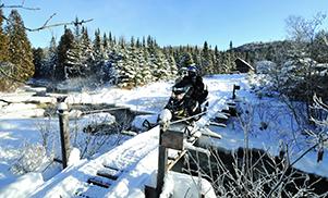 Sur la piste du Saguenay